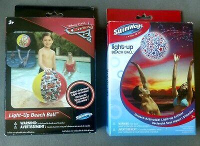Light up Beach Ball - 2 Styles Availiable Disney Cars OR Stars - You choose](Beach Ball Lights)
