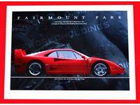 Poster of Ferrari 250 GTO Giant HD Huge 54x36 Inch Print 137x91 cm