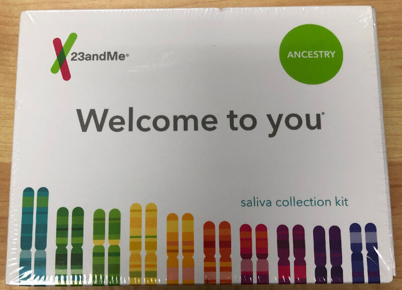 New 23andMe DNA Test Ancestry Personal Genetic Service EXP: 05/21