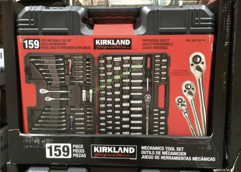 Kirkland Signature 159 pc Mechanic Tool Set, New Open Box