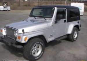 WANTED: 2005 Jeep TJ Parts