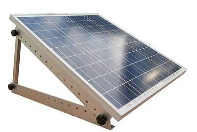 Adjustable Solar Panel Mount Mounting Rack Bracket -- Boat, RV, Roof Off Grid