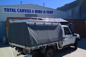 Custom Ute Canopy Perth- Frame and Canopy packages