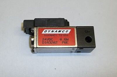 Dynamco Dash High-tech Direct Operating 2-way Mini Solenoid Valve D1a3202 24vdc