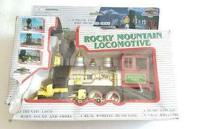 Rocky Mountain Golden Line Express Bump N Go Toy Train Not Test Damaged Box