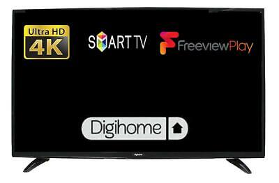 """Digihome 50551UHDS 50"""" Smart 4K Ultra HD LED TV With Freeview Play In Black"""