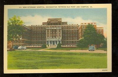 Hampton Institute, Virginia, New Veterans Hospital, Kecoughtan (HamptonVA27), usado segunda mano  Embacar hacia Argentina