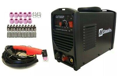 Plasma Cutter 52 Cons Pilot Arc 50amp Simadre 110220v Easy 12 Clean Cut 50dp