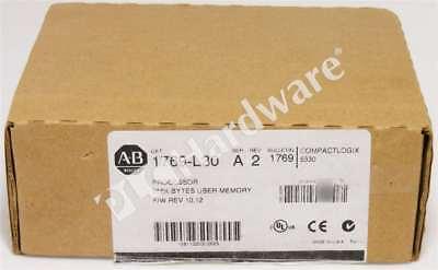 New Allen Bradley 1769-l30 A Compactlogix Dual Serial Port Processor Fw 10.12