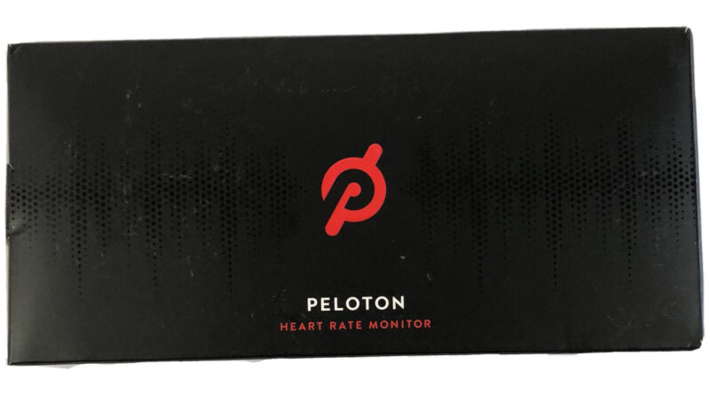 Peloton Heart Rate Monitor New In Box. Box is damaged (see picture).