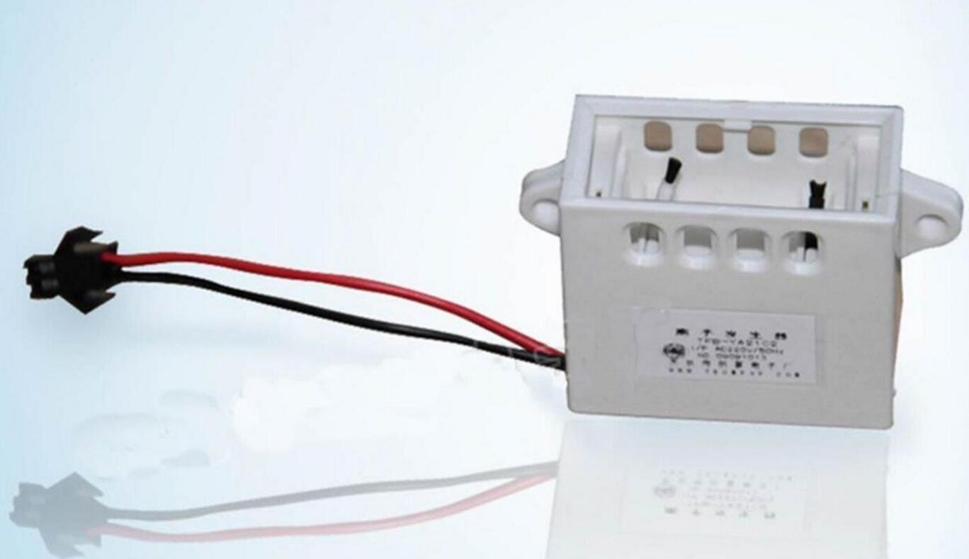 1 x White Positive and Negative Ion Generator to Taste Fresh Fridge 12V t