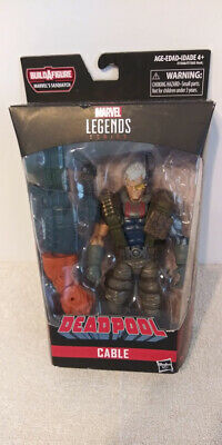CABLE X-Men Marvel Legends X-Force Deadpool Sasquatch Series 2018 Hasbro MIB