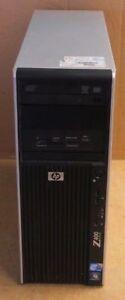 HP Z400, 3.2GHz Xeon Quad Core, 8GB Ram DDR3, 500 GB HDD, Liquid