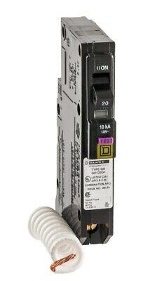 Brand New Square D Qo 20 Amp Single-pole Dual Function Circuit Breaker