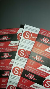 TTC BUS TICKETS FOR STUDENTS/SENIORS DISCOUNTED PRICE