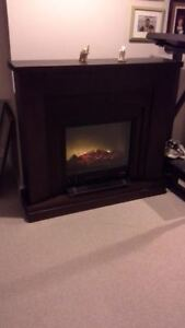 Electric fireplace for sale.