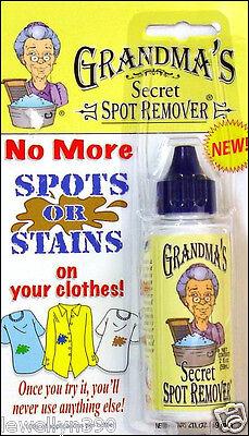 Grandma's Secret Spot Remover 2 oz. NEW
