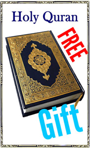 The Holy Quran in English Translation and Islamic Books are free
