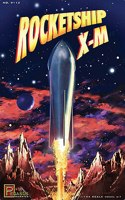 Pegasus Hobbys ROCKETSHIP X-M Plastic Model Kit 1/144 IN STOCK !