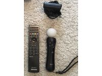 PlayStation Move + Bluetooth Remote and 2 Games