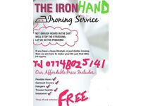 Ironing service/ Free pick up& drop of