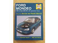 Haynes Mondeo repair manual