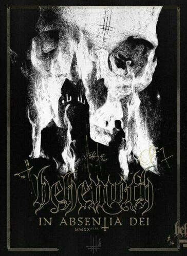 Behemoth In Absentia Dei Signed Poster