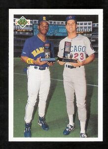 50 KEN GRIFFEY JR SANDBERG 1991 Upper Deck Final Edition Cards