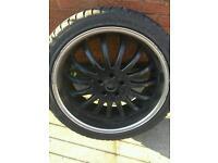 Alloy wheels 22 inch