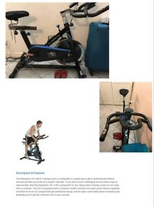Exercise Bike from Exerpeutic with heart pulse(BLUE / LX7)