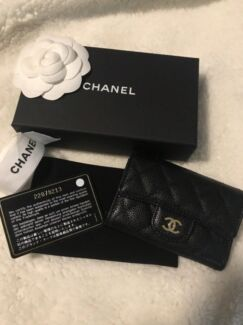 Chanel card holder bags gumtree australia inner sydney sydney chanel brand new card holder in caviar leather reheart Choice Image