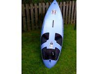Fanatic Gecko 298 windsurfing board