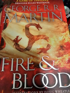 Fire and Blood (George R.R. Martin) Hardcover Novel