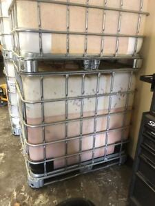 1000 litre IBC tote - Plastic and Steel
