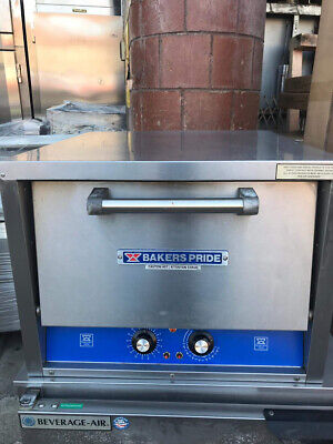Bakers Pride P-18s Electric Countertop Pizza Deck Oven - 120 1ph 1880