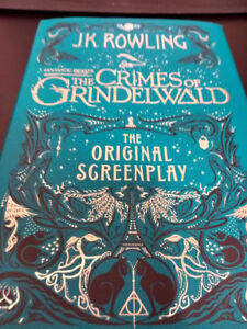The Crimes of Grindewald: The Original Screenplay by JK Rowling