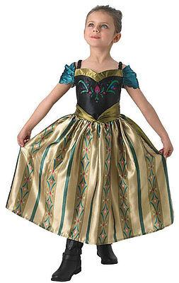für Mädchen NEU - Mädchen Karneval Fasching Verkleidung Kostü (Kostüm Für Frozen)