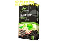 Multi-Purpose Compost 60 Ltr NN11 3AW Collection only