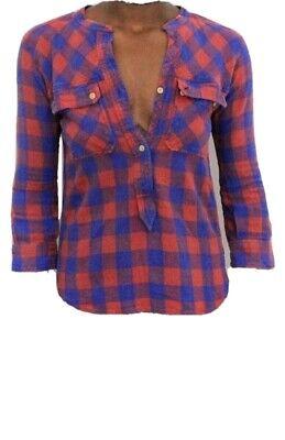 Etoile isabel marant Checkered Shirt size 2