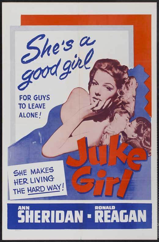 JUKE GIRL Movie POSTER 27x40 B
