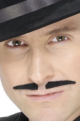 20er Jahre Mafia Gangster Schnurrbart NEU - Karneval Fasching Bart Verkleidung