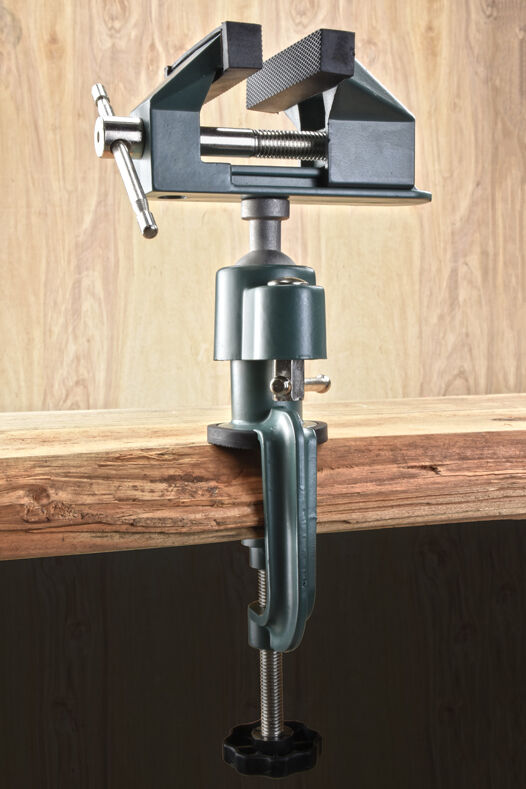 "New 3"" Universal Aluminum Gunsmiths Table Vice Orbital Joint"