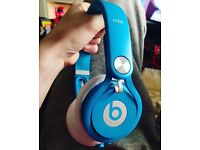 Dr Dre Neon Blue Mixr Beats (real) for swap