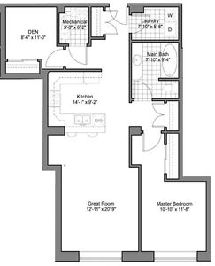 Centre Suites on 3rd, 945 3rd Ave, East #302, $274,900