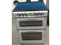 GREY NEW WORLD 60cm ELECTRIC COOKER, EXCELLENT CONDITION 4 MONTHS WARRANTY