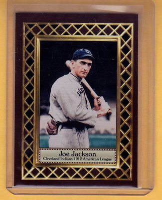- Shoeless Joe Jackson, Cleveland Indians, Fan Club serial numbered /300