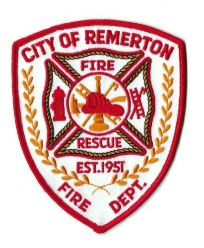 *RARE* Remerton (Lowndes County) GA Georgia Fire Rescue Dept. patch - NEW!