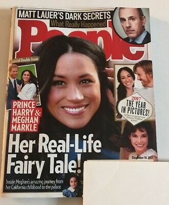 People Magazine Harry Meghan Markle 2017 In Pictures Matt Lauer December 18 2017