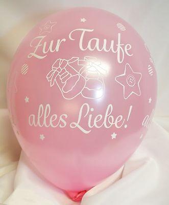 ufe alles Liebe ROSA, Qualatex, ca. 30 cm (Liebe Luftballons)