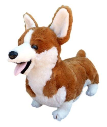 """ADORE 13"""" Standing Cory the Farting Corgi Dog Stuffed Animal"""